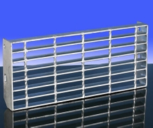 Steel Material Bar Grating Stair Tread B