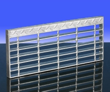 Steel Material Bar Grating Stair Tread C